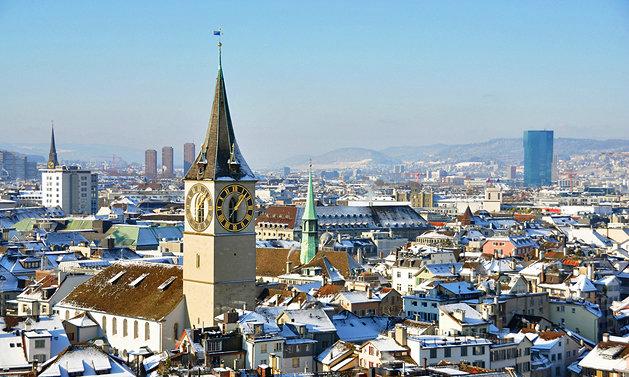 Hai thành phố nào ở Thuỵ Sĩ được nhiều người nhắc đến và biết nhiều như thủ đô?