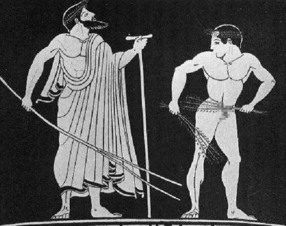"""Theo quy định ban đầu, các vận động viên tham gia thi đấu đều phải """"nude""""?"""