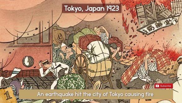 Trận đại hỏa hoạn ở thành phố Tokyo (Nhật) năm 1923 khiến 142.000 chết có nguyên nhân từ đâu?