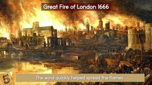 Trận đại hỏa hoạn ở thành phố London (Anh) năm 1212 đã làm bao nhiêu người chết?