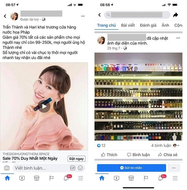 Xuất hiện trang Facebook Trấn Thành bán nước hoa rẻ tiền, MC Đại Nghĩa 'sốc nhiệt' ảnh 3