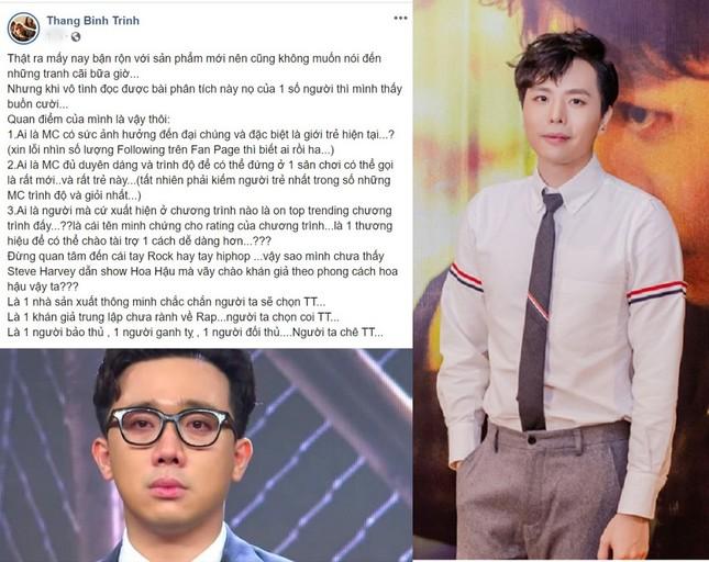 Bạn thân nói gì về những áp lực của Trấn Thành khi trở thành MC của 'Rap Việt' ảnh 3