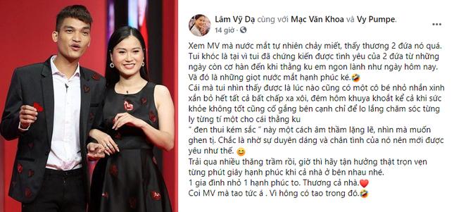 Sao Việt chúc mừng Mạc Văn Khoa sắp lên chức bố ảnh 3