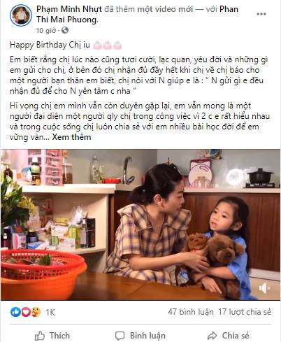 Quản lý cũ, bạn thân viết lời chúc mừng sinh nhật cố diễn viên Mai Phương gây xúc động ảnh 2