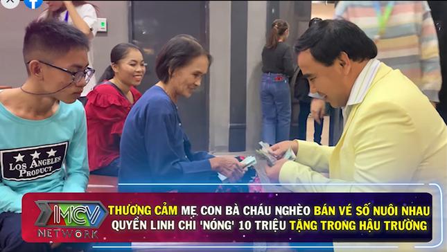 Quyền Linh tặng nóng tiền cho cặp mẹ chồng – nàng dâu nghèo gây xúc động ảnh 2
