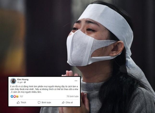 Bị chỉ trích vì liên tục đăng ảnh bạn trai diễn viên Hải Đăng vừa mất, vợ sắp cưới nói gì? ảnh 2