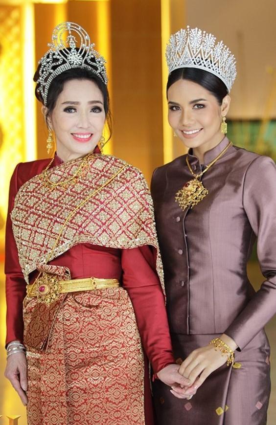 Hoa hậu Hoàn vũ Thái Lan U80 vẫn sở hữu body cân đối, nhan sắc trẻ trung ảnh 7