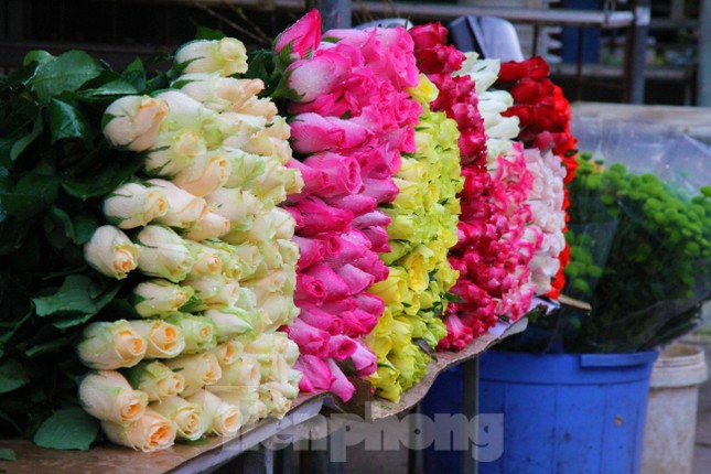 Hoa tươi sau Tết ở Hà Nội rớt giá thê thảm chưa từng thấy ảnh 5