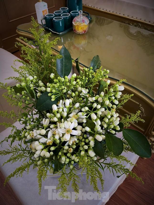 Hà Nội mùa hoa bưởi ngát hương ảnh 9