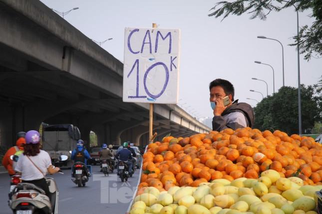 Hoa quả giá rẻ không rõ nguồn gốc bán trên phố Hà Nội vẫn hút khách ảnh 6