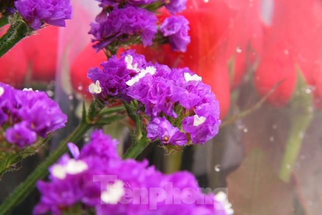 Giá hoa tăng vọt trước ngày 8/3, chủ hàng thuê thêm người chốt đơn online ảnh 5