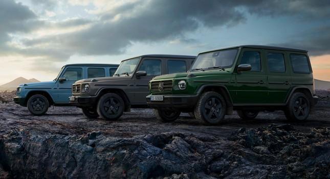 Mercedes-Benz lập kế hoạch điện khí hóa G-Class ảnh 1
