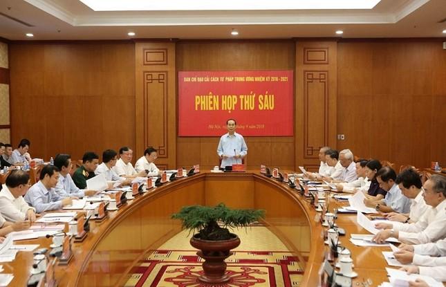 Những ngày làm việc cuối cùng của Chủ tịch nước Trần Đại Quang ảnh 2