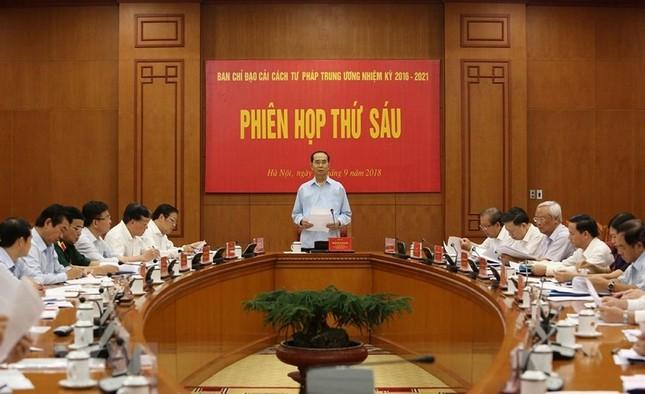 Những ngày làm việc cuối cùng của Chủ tịch nước Trần Đại Quang ảnh 3