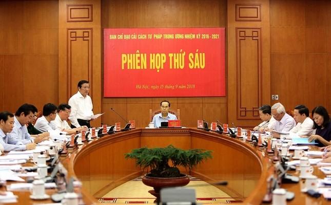 Những ngày làm việc cuối cùng của Chủ tịch nước Trần Đại Quang ảnh 1