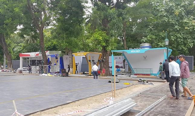 Vinfast gấp rút chuẩn bị cho lễ ra mắt 4 mẫu xe mới tại Hà Nội ảnh 6