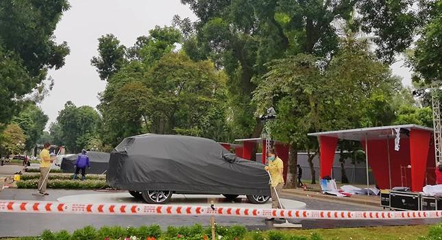 Vinfast gấp rút chuẩn bị cho lễ ra mắt 4 mẫu xe mới tại Hà Nội ảnh 4