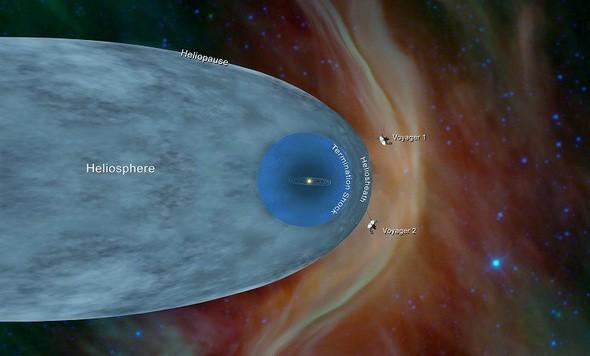 Tàu vũ trụ Voyager 2 trứ danh đã chạm đến không gian giữa các vì sao ảnh 1