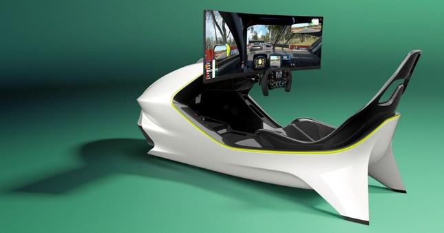 Aston Martin giới thiệu ghế đua xe ảo giá 1,73 tỷ đồng ảnh 1