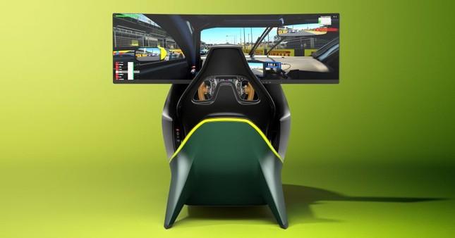 Aston Martin giới thiệu ghế đua xe ảo giá 1,73 tỷ đồng ảnh 9