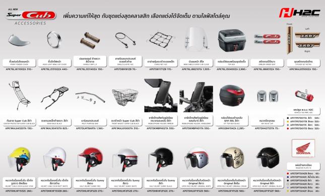 Honda Super Cub mới ra mắt tại Thái Lan, giá 35 triệu đồng ảnh 2