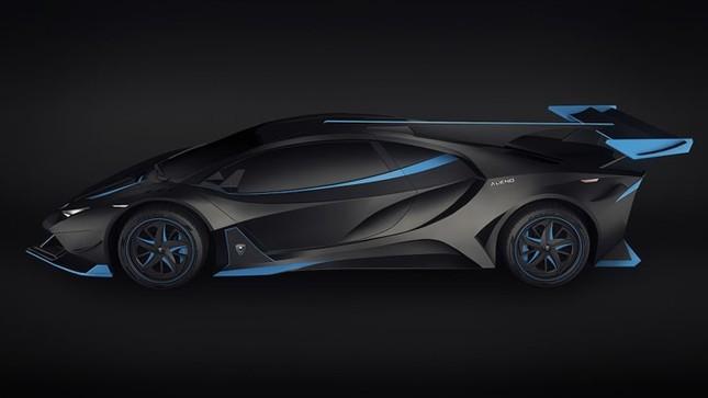 Siêu xe Alieno Arcanum mới với công suất hơn 5.000 mã lực ảnh 1