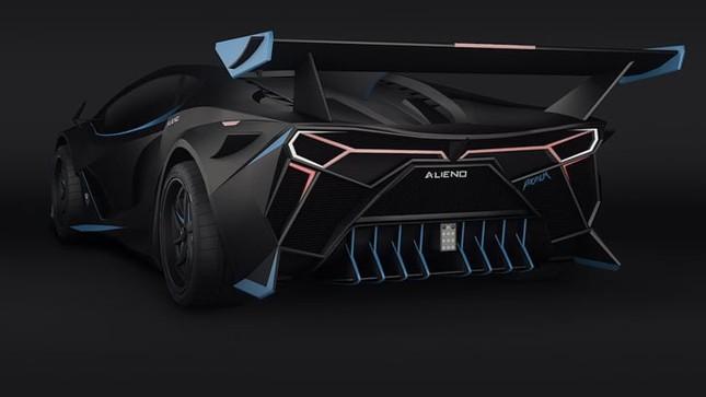 Siêu xe Alieno Arcanum mới với công suất hơn 5.000 mã lực ảnh 2