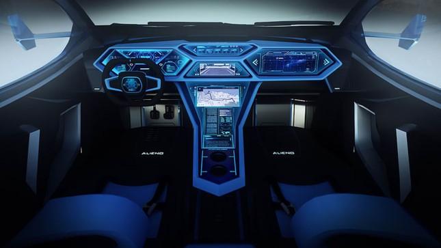 Siêu xe Alieno Arcanum mới với công suất hơn 5.000 mã lực ảnh 3