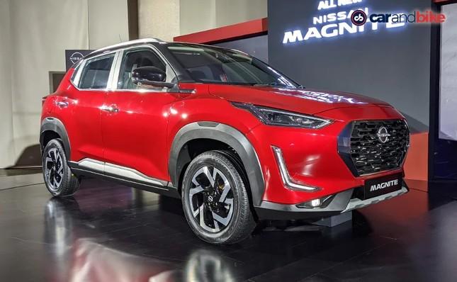 SUV cỡ nhỏ Nissan Magnite chính thức xuất hiện tại Ấn Độ ảnh 1