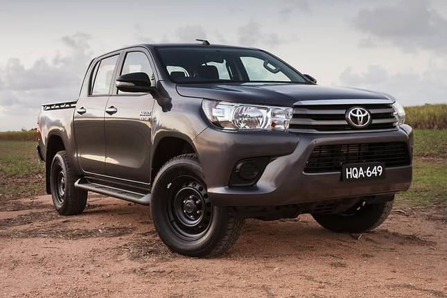 Toyota Hilux hút trộm tại Australia ảnh 1