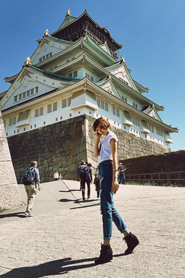 Trang Lạ, Phan Anh tình tứ đi thăm thú Nhật Bản ảnh 9