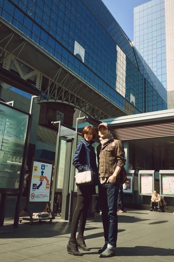 Trang Lạ, Phan Anh tình tứ đi thăm thú Nhật Bản ảnh 2