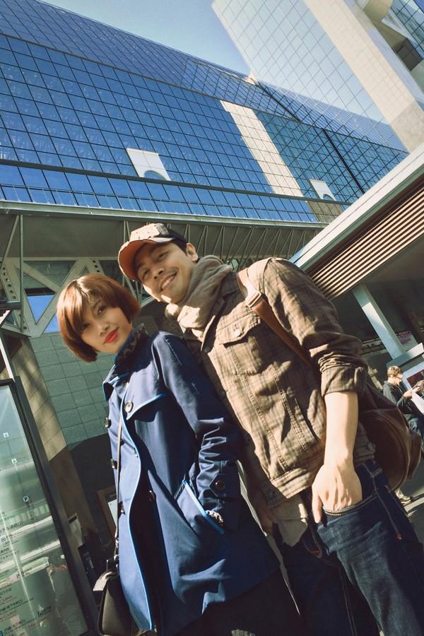 Trang Lạ, Phan Anh tình tứ đi thăm thú Nhật Bản ảnh 3