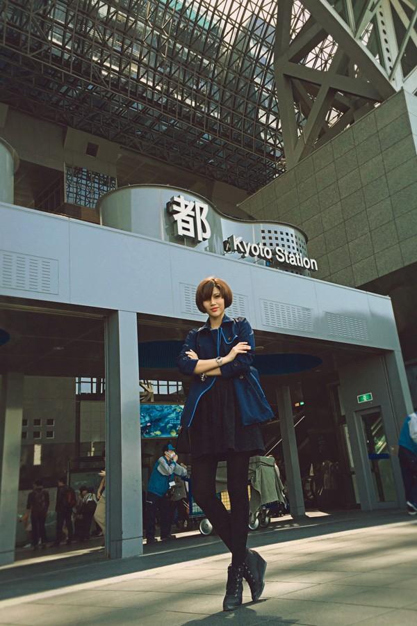 Trang Lạ, Phan Anh tình tứ đi thăm thú Nhật Bản ảnh 11