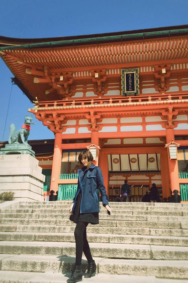Trang Lạ, Phan Anh tình tứ đi thăm thú Nhật Bản ảnh 12