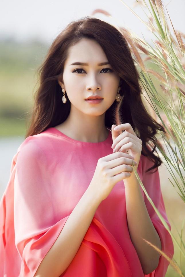 Hoa hậu Thu Thảo đẹp như 'tiên nữ' giữa cánh đồng hoa ảnh 4