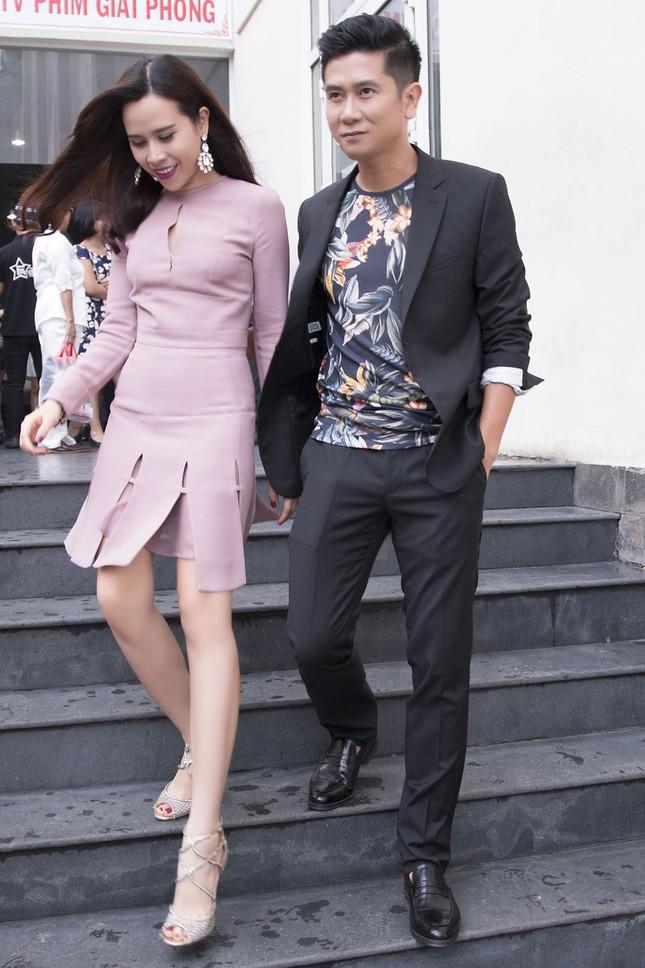 Vợ chồng Lưu Hương Giang sành điệu trở lại The Voice Kids ảnh 1
