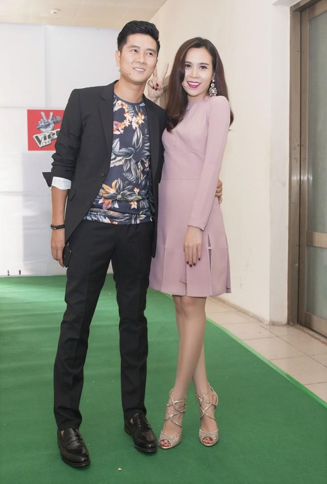 Vợ chồng Lưu Hương Giang sành điệu trở lại The Voice Kids ảnh 5