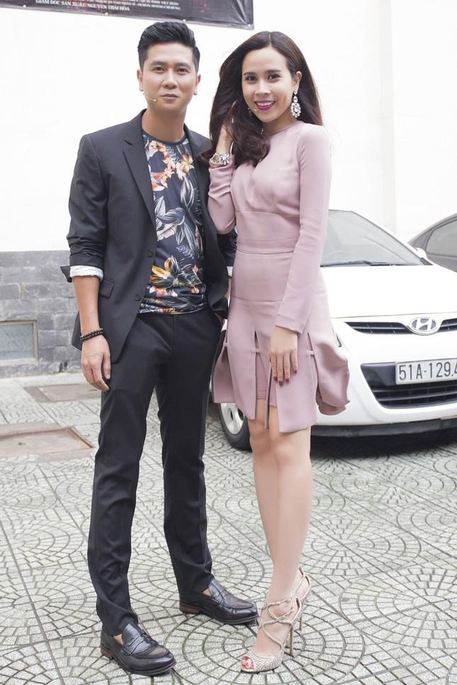 Vợ chồng Lưu Hương Giang sành điệu trở lại The Voice Kids ảnh 2