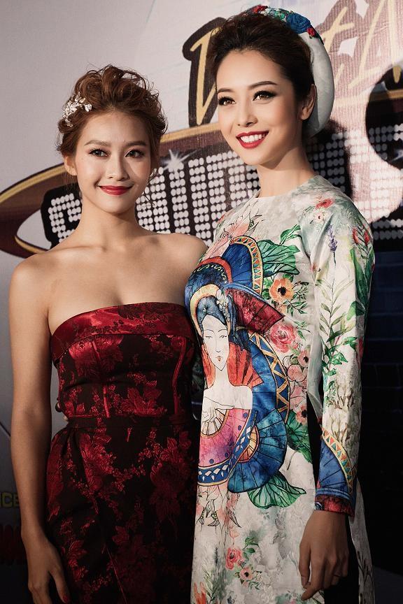 Jennifer Phạm mặc áo dài 'đọ sắc' Lâm Chi Khanh ảnh 3