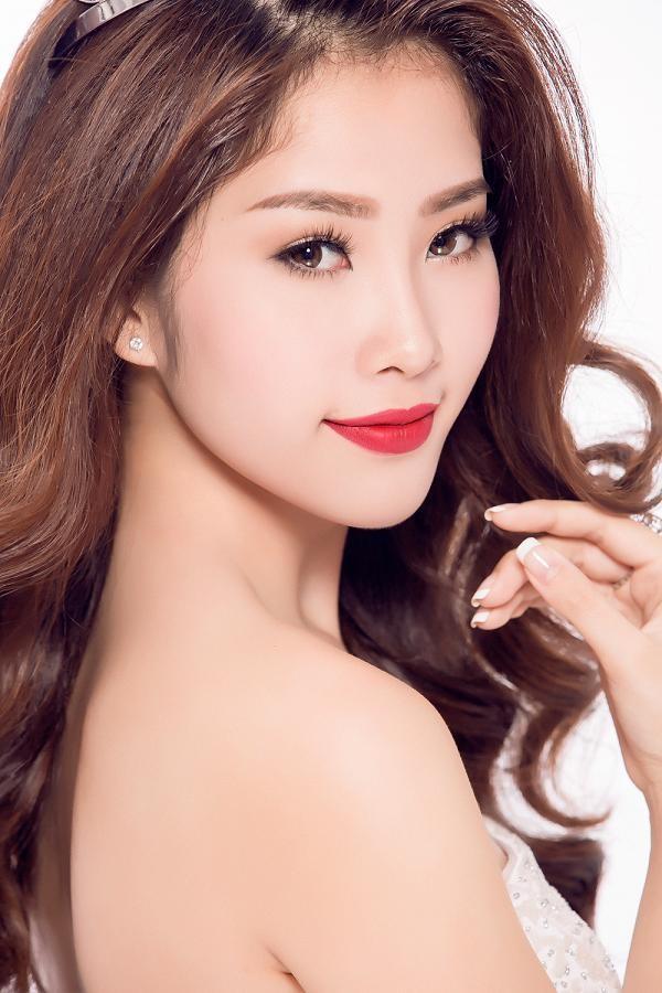 Hoa khôi Nam Em muốn dự thi Hoa hậu Việt Nam 2016 ảnh 1