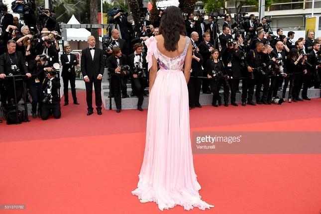 Hoa hậu Pháp khoe sắc trên thảm đỏ Cannes trước khi sang Việt Nam ảnh 8