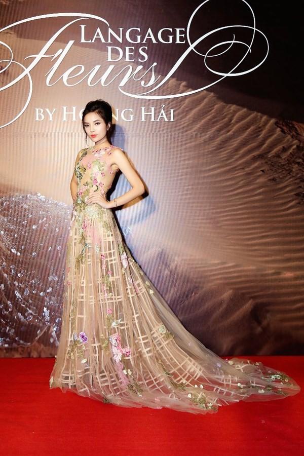 Hoa hậu Pháp duyên dáng trên sàn catwalk Việt ảnh 5
