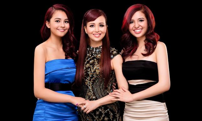 Nhan sắc xinh đẹp của hai con gái Hoa hậu Diệu Hoa ảnh 10