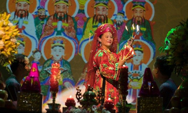 Lễ chào mừng 'Tín ngưỡng thờ Mẫu' là di sản văn hóa nhân loại ảnh 5