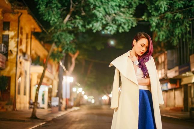Mỹ Tâm đẹp lung linh trong đêm mùa đông Hà Nội ảnh 2
