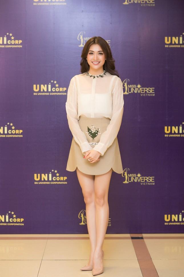Á hậu Hoàng My về nước làm giám khảo Hoa hậu Hoàn vũ 2017 ảnh 5