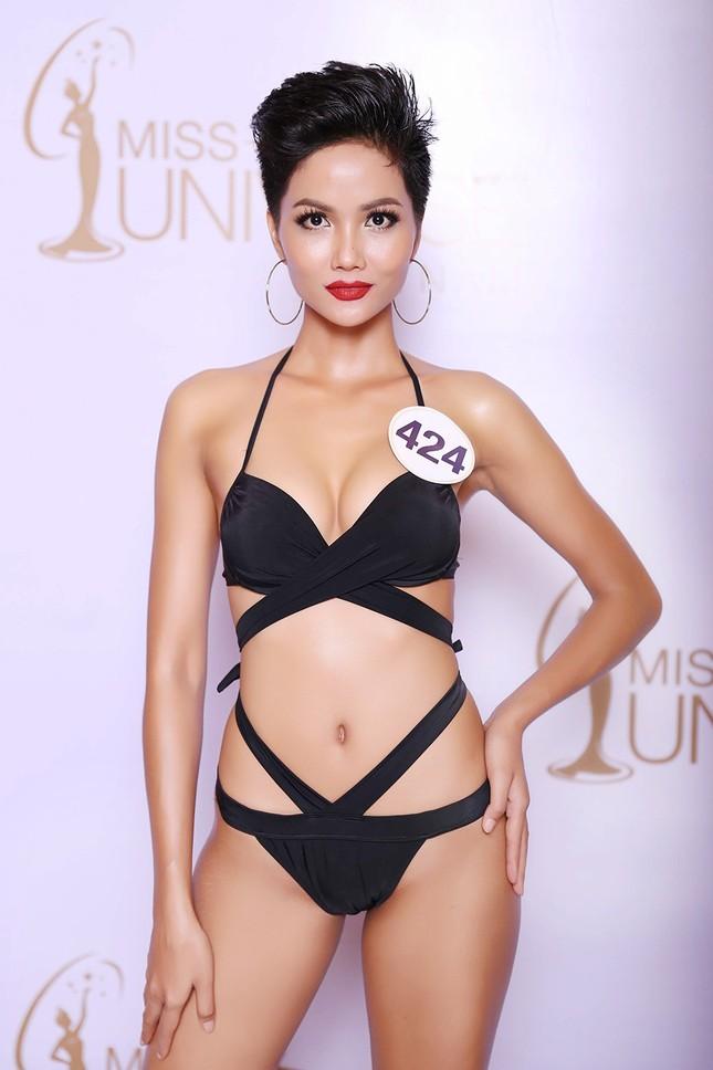 Hoàng Thuỳ, Mâu Thuỷ mặc bikini 'lấn át' dàn thí sinh tại sơ khảo HHHV ảnh 7