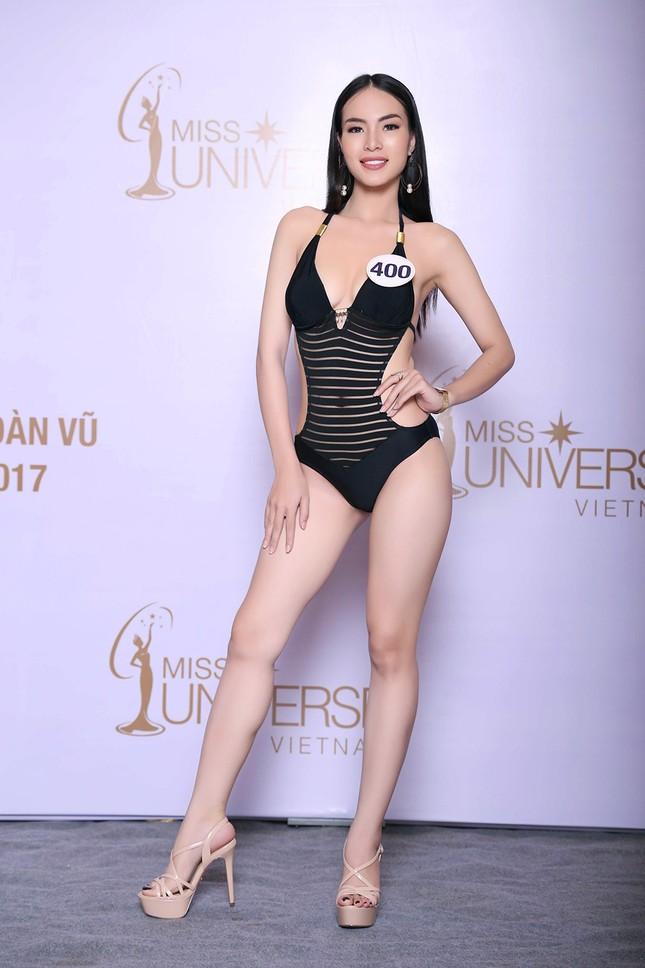 Hoàng Thuỳ, Mâu Thuỷ mặc bikini 'lấn át' dàn thí sinh tại sơ khảo HHHV ảnh 8