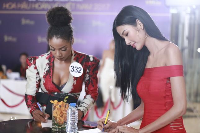 Dàn ứng viên nặng ký xuất hiện trong sơ khảo Hoa hậu Hoàn vũ ảnh 10